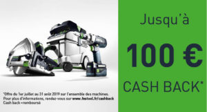 Cash Back Festool 2019