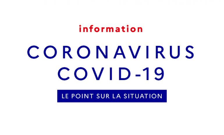 Covid 19 – Activité réduite